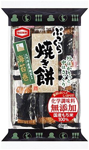 亀田製菓 ぷっくら焼き餅海苔巻 6個×6袋