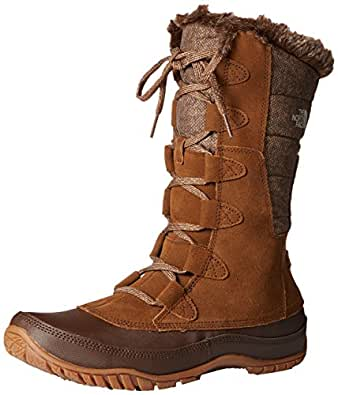 The North Face Nuptse Purna Boot Womens Desert Palm Brown/Feather Grey 6.5