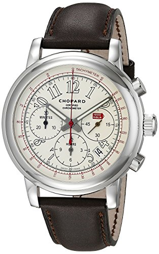 Chopard Men's 168511-3036 LBR Steel Watch With Brown Band