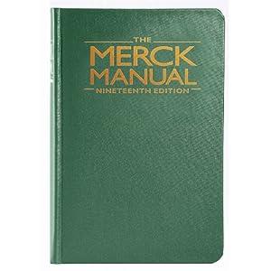 Merck Manual of Diagnosis & Therapy