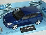 Hyundai i30 i 30 Blau 5 TÃrer Ca 1/43 1/36-1/46 Welly Modellauto Modell Auto