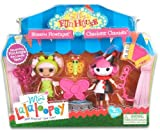 Lalaloopsy Silly Funhouse Blossom Flowerpot And Charlotte Charades Dolls