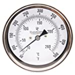 "Industrial Thermometer 3"" Face x 6"" S..."