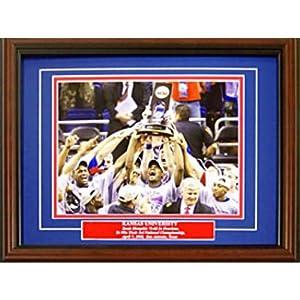 2007-2008 Kansas Jayhawks Mens Basketball Celebration 8x10 Photo by Hollywood+Collectibles
