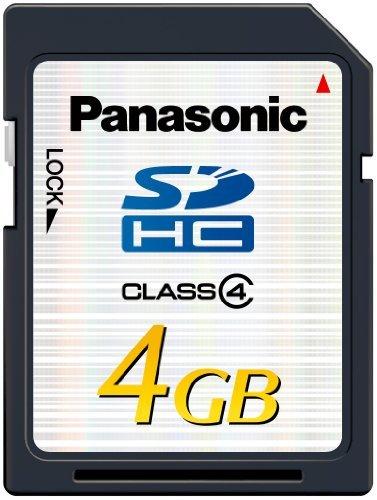 Panasonic 4GB SDHC Memory Card Class 4 (Bulk) (Panasonic Dmc Fh5 compare prices)