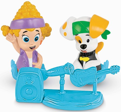 Fisher-Price Nickelodeon Bubble Guppies: Deema and Bubble Puppy - 1