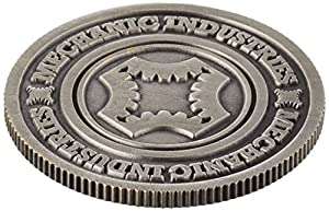MMS Half Dollar Coin (Gun Metal Grey) by Mechanic Industries - Trick