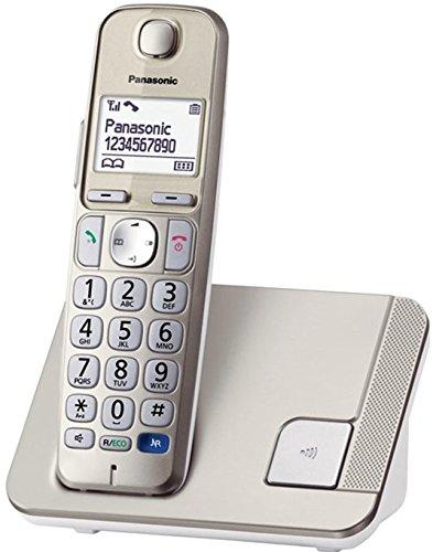 Panasonic KXTGE210 Telefono Cordless DECT, Oro