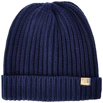 Hilfiger denim - bonnet - homme - bleu (black iris pt) - taille unique