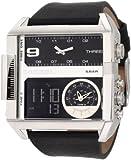 Diesel Watches Men's SBA Ana-Digi Black Dial Watch