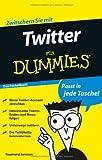 Twitter für Dummies Das Pocketbuch