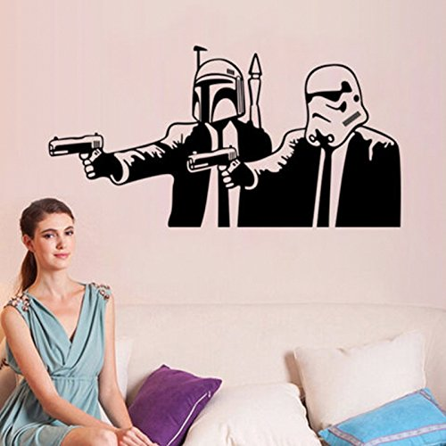 [Starwar Stomtrooper Removable Wall Stickers Home Room Vinyl Mural DIY Decal Kid Bedroom Art Decor 14