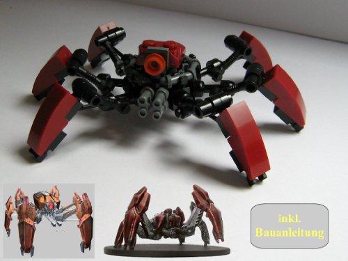 Lego Star Wars Figuren Lm 432a Crab Droid Custom Lego Star Wars