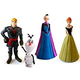 Beverly Hills Teddy Bear Company Frozen Olaf, Anna, Elsa, Kristoff Figure (4-Pack)