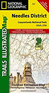 TI Map #311- Canyonlands- Needles District
