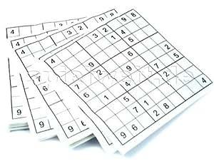 Doridia Imports Servietten - Sudoku