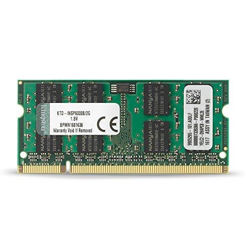 Kingston 2 GB DDR2 SDRAM Memory Module 2 GB (1 x 2 GB) 667MHz DDR2 SDRAM 200pin KTD-INSP6000B/2G (Etaratech Inc compare prices)