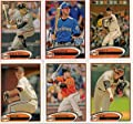 MEGA SET - 32 Cards of the 2012 WORLD SERIES CHAMPS! 2012 Topps San Francisco Giants Complete Master Team Set (Series 1,2, and Update) - 32 Cards Includes Scutaro, Lopez, Cabrera, Hensley, Casilla, Posey, Theriot, Affeldt, Pence, Pagan, Sandoval, Cain & M