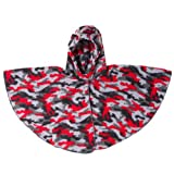 Wrapeaze Fleece Hooded Wrap 0-24 Months ~ Quick On/Off Jacket Alternative (Black & Red Camo)
