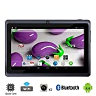 Tagital® T7X 7 Quad Core Android 4.4 KitKat Tablet PC, Bluetooth, Dual Camera, Google Play Store Pre-installed, 3D Game Supported, 2015 Newest Model- Black