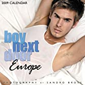 Boy Next Door Europe 2009 Calendar