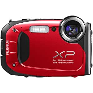 Fujifilm FinePix XP60 16.4MP Digital Camera with 2.7-Inch LCD (Red) (OLD MODEL)