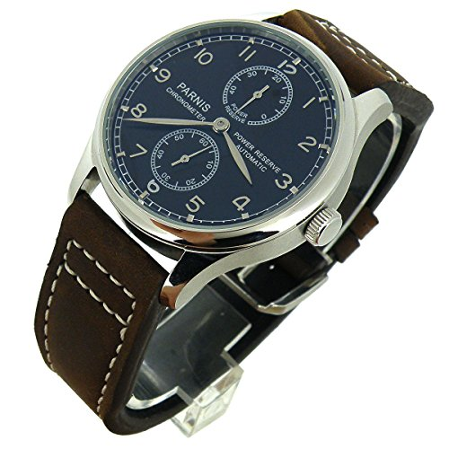 43mm-Parnis-Black-Dial-Pilots-Power-Reserve-Seagull-2542-Automatic-Mens-Watch
