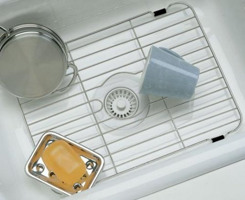 Small Kitchen Sink Protector in Stainless Steel By Better Houseware