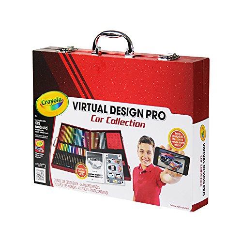Crayola Virtual Design Pro Cars Set 885282653997