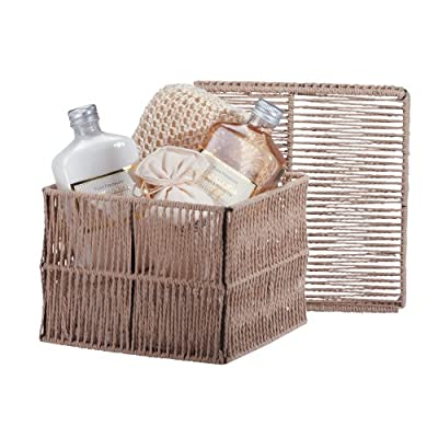 Cheapest Vanilla Milk Bath Gift Set Rustic Cord Box Gel Lotion by Sunshine Megastore - Free Shipping Available