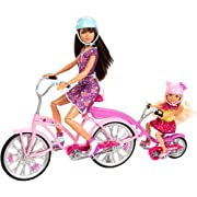 Barbie Sisters Bike for Two Play Set