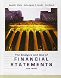 img - for The Analysis and Use of Financial Statements by White, Gerald I., Sondhi, Ashwinpaul C., Fried, Dov 3rd edition (2002) Hardcover book / textbook / text book