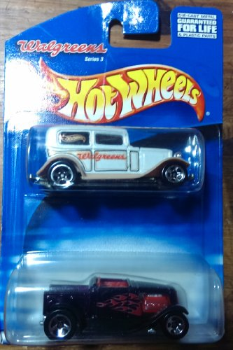 Hot Wheels Walgreens 2 car pack with limited Walgreens car