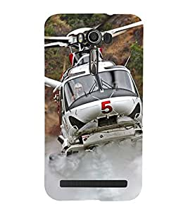 Vizagbeats helicopter Back Case Cover for Asus Zenfone 2 Laser ZE550KL::Asus Zenfone 2 Laser ZE550KL (5.5 Inches)