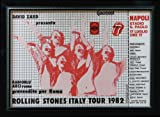 ROLLING STONES * CINEMASTERPIECES VINTAGE ORIGINAL ITALIAN ROCK CONCERT TOUR POSTER MUSIC 1982 Amazon.com