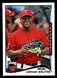 2014 Topps Update All-Star Adrian Beltre Texas Rangers (Baseball Card) # 254 Dean's Cards 8 - NM/MT