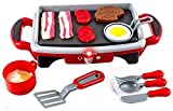 Wol Vol Electric Griddle Stove Toy With Full Breakfast Menu, Light And Sounds
