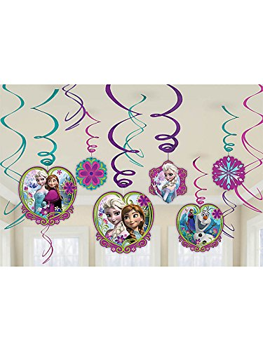 Disney's Frozen Swirl Decorations - 1