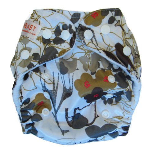 Sunbaby 4.0 Reusable Baby Pocket Cloth Diaper / Size 2 / Fits 7-35 Lbs (4123) front-67496