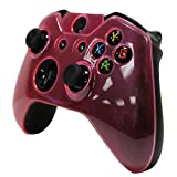 HDE Protective Top Shell Crystal Cover Case for Xbox One Gaming Controllers (Pink)