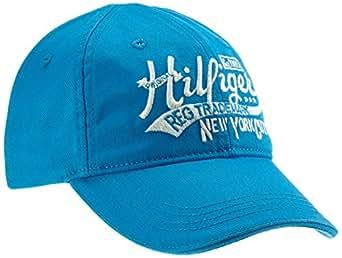 Tommy Hilfiger Jungen Kappe LOGO CAP, Einfarbig, Gr. 152 (Herstellergröße: Medium), Blau (BRILLIANT BLUE)