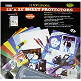 Pioneer Bulk Sheet Protectors for 12 x 12 Pages (Pack of 25)