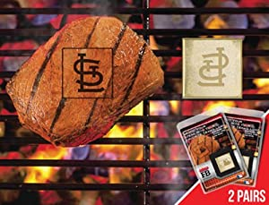 MLB St Louis Cardinals FanbrandFleece Blanket 2 Pack by Crosby