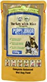James Wellbeloved Puppy Pouch Turkey with Rice and Vegetables 10 x 150 g