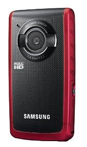 Samsung HMX-W190 Waterproof Pocket HD Digital Video Camcorder Red/Black - Manufacturer Refurbished