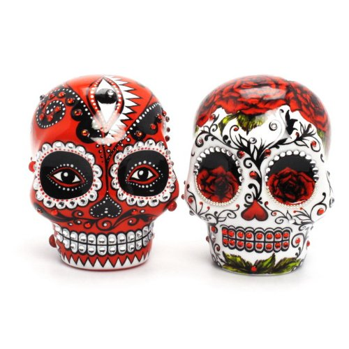 Love never dies Day Of The Dead Skull Lover Wedding Cake Toppers Day ...