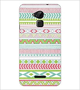 PrintDhaba Pattern D-5198 Back Case Cover for COOLPAD NOTE 3 LITE (Multi-Coloured)