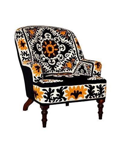 Ellie Embroidered Armchair, Multi