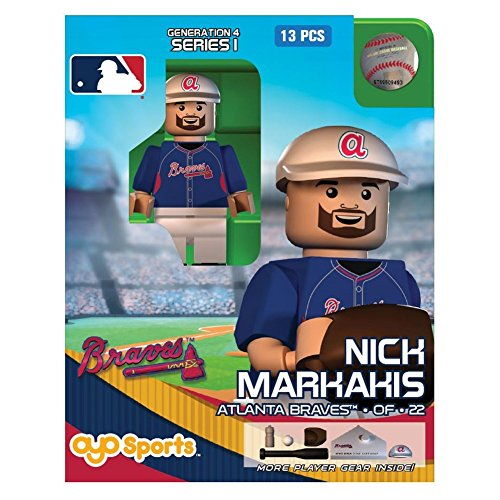 Nick Markakis OYO MLB Atlanta Braves G4 Series 1 Mini Figure Limited Edition