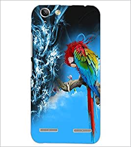 PrintDhaba Colourful parrot D-4529 Back Case Cover for LENOVO VIBE K5 PLUS (Multi-Coloured)